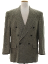 Mens Totally 80s Swing Style Blazer Sport Coat Jacket