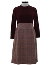 Womens Mod Dress