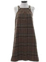 Womens Wool A-Line Dress