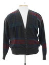 Mens Cardigan Style Cosby Sweater