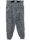 Unisex Totally 80s Print Baggy Pants