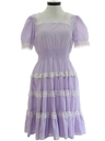 Womens Prairie Style Square Dance Dress