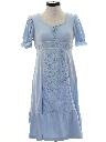 Womens Hippie Prairie Style Dress