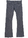 Mens Flared Bellbottom Style Low-Rise Hiphugger Pants