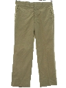 Mens Khaki Preppy Golf Pants