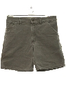 Mens Denim Work Shorts