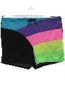 Mens Totally 80s Style Swim Shorts