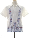 Mens Mod Resort Wear Hawaiian Style Shirt
