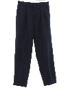 Mens Totally 80s Pleated Slacks Pants