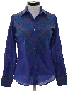 Womens Totally 80s Western Shirt