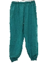 Womens Totallly 80s Baggy Track Pants