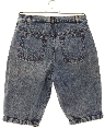 Womens Acid Washed Denim Jeans Shorts