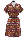 Womens Hippie Day Dress
