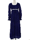 Womens Cocktail or Prom Velvet Maxi Dress