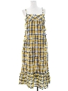 Womens A-Line Hippie Sun Dress