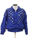 Womens Totally 80s Golden Girls Style Wind Breaker Jacket