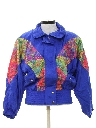 Womens Golden Girls Style Wind Breaker Jacket