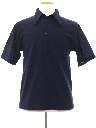 Mens Knit Polo Shirt