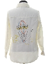 Womens Western Style Hippie Style Leisure Shirt Jacket