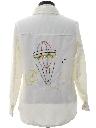 Womens Western Style Hippie Style Leisure Shirt Jacket
