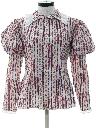 Womens Victorian Style Prairie Shirt