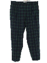 Mens Totally 80s PLaid Golf Pants