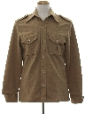 Mens Safari Style Leisure Jacket