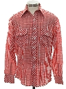 Mens Western Style Mod Shirt