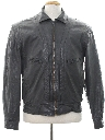 Mens Mod Cafe Racer Style Totally 80s Leather Jacket