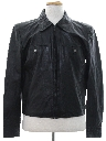 Mens Mod Leather Jacket