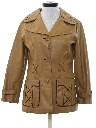 Womens Vinyl Car Coat Jacket