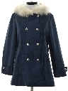 Womens Mod Ski Style Car Coat Jacket