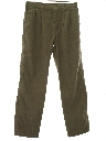 Mens Totally 80s Pleated Corduroy Pants