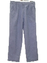 Mens Totally 80s Baggy Pleated Slacks Pants