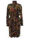 Womens Totally 80s Wiggle Dress