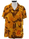 Womens Mod Hawaiian Style Shirt