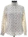 Womens Totally 80s Print Shirt