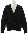 Mens Mod Mohair Cardigan Sweater