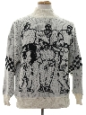 Mens Totally 80s Pullover Sweater