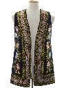 Unisex Embroidered Hippie Vest