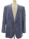 Mens Faux Suede Leather Blazer Sportcoat Jacket