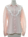 Womens Ruffled Prairie Shirt