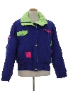 Mens Totally 80s Style Ski Jacket