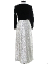Womens Mod Velvet Cocktail Maxi Dress