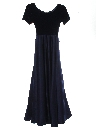 Womens Wicked 90s Prom Or Cocktail Maxi Dress