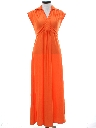 Womens Disco Maxi Dress