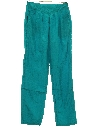 Womens Totally 80s Style Baggy Track Pants