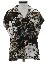 Womens Pullover Print Disco Shirt