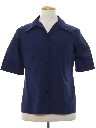 Mens or Boys Mod Sport Shirt