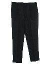 Mens Mod Pleated Slacks Pants